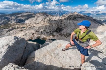 Atop Mount Hoffmann, Yosemite.