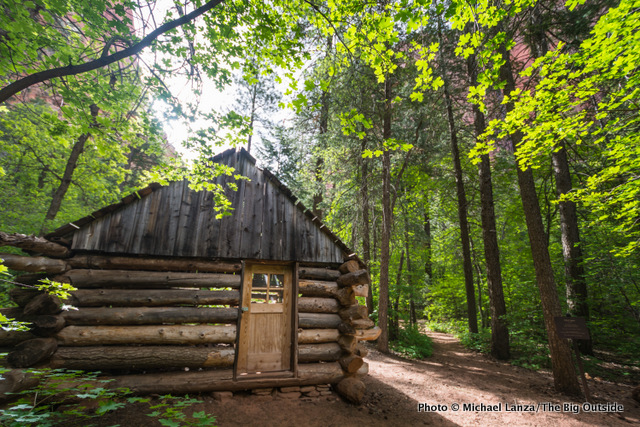 Fife Cabin, Taylor Creek Trail.