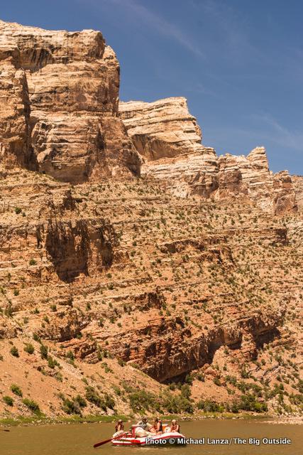 Split Mountain Canyon.