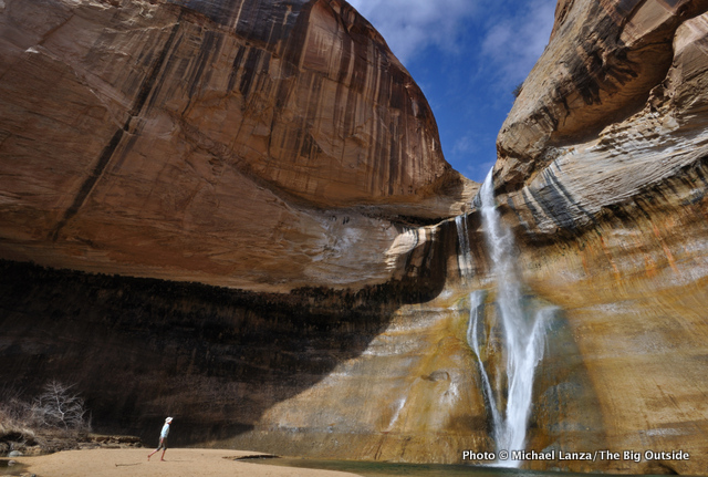 Lower Calf Creek Falls, Grand Staircase-Escalante National Monument.