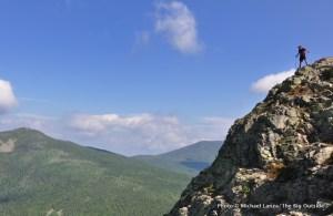 Hiking Mount Flume, Franconia Ridge.