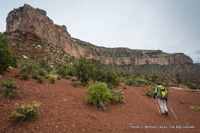 David Ports backpacking the Royal Arch Loop in the Grand Canyon.