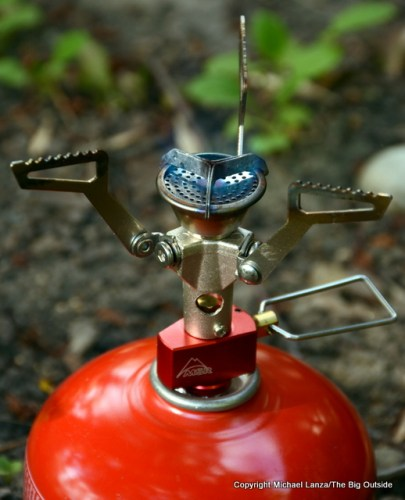 MSR Pocketrocket 2 backpacking stove.