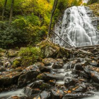 Crabtree Falls, Blue Ridge Parkway, Pisgah National Forest, N.C.