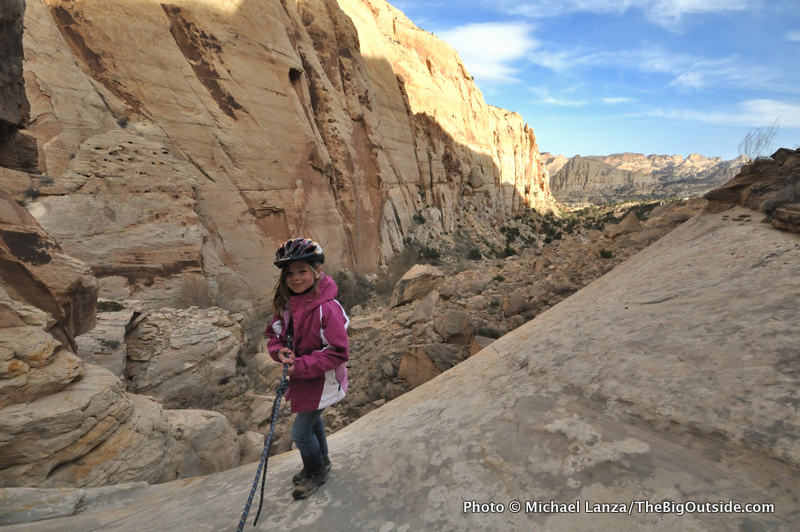 Deep in the backcountry of Utah's Capitol Reef National Park.