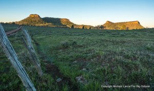 The Bears Ears buttes in Bears Ears National Monument, which President Trump reduced by 85 percent.