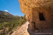Ancestral Puebloan ruins, Dark Canyon, Utah.