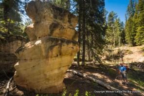 Peavine Canyon Trail, Dark Canyon Wilderness, Utah.