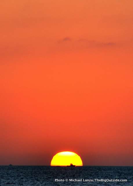 Sunset from Tiger Key in the Ten Thousand Islands, Everglades National Park.