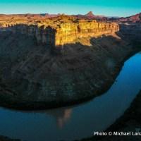 Dawn above Stillwater Canyon, Green River, Canyonlands National Park.