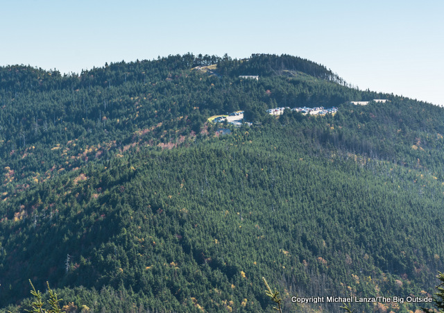 Mount Mitchell from the Black Mountain Crest Trail.