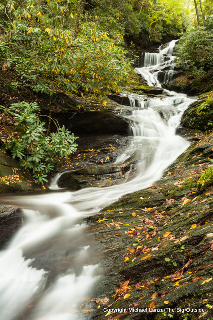Roaring Fork Falls, Pisgah National Forest, N.C.