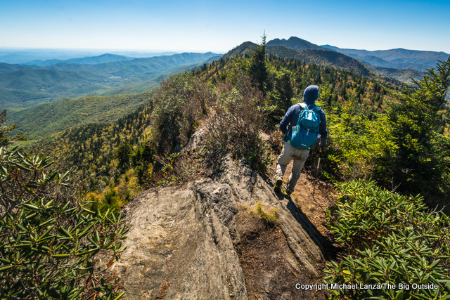 Hiking the Black Mountain Crest Trail to Mount Mitchell, N.C.