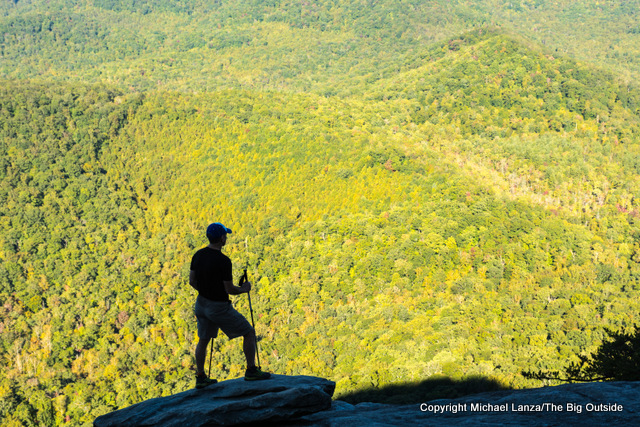 The view from Looking Glass Rock, Pisgah National Forest, N.C.
