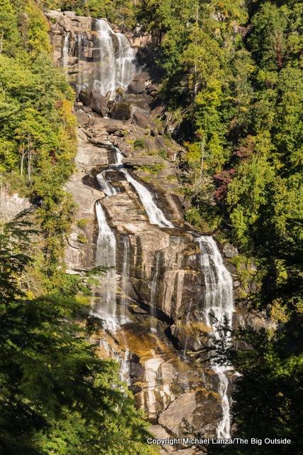 Upper Whitewater Falls, Nantahala National Forest, N.C.