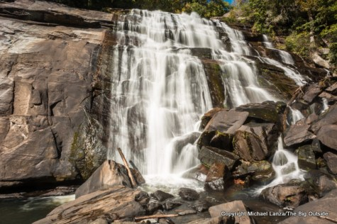 Rainbow Falls in Gorges State Park and Nantahala National Forest, N.C.