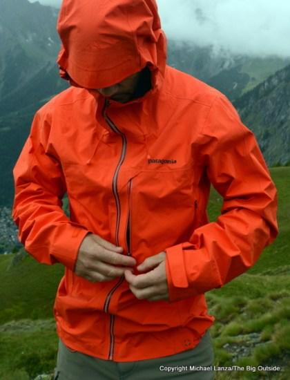 Patagonia Pluma Jacket front.