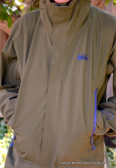 REI Talusphere Jacket front.