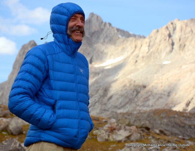 Arc'teryx Cerium LT Hoody in the Wind River Range.