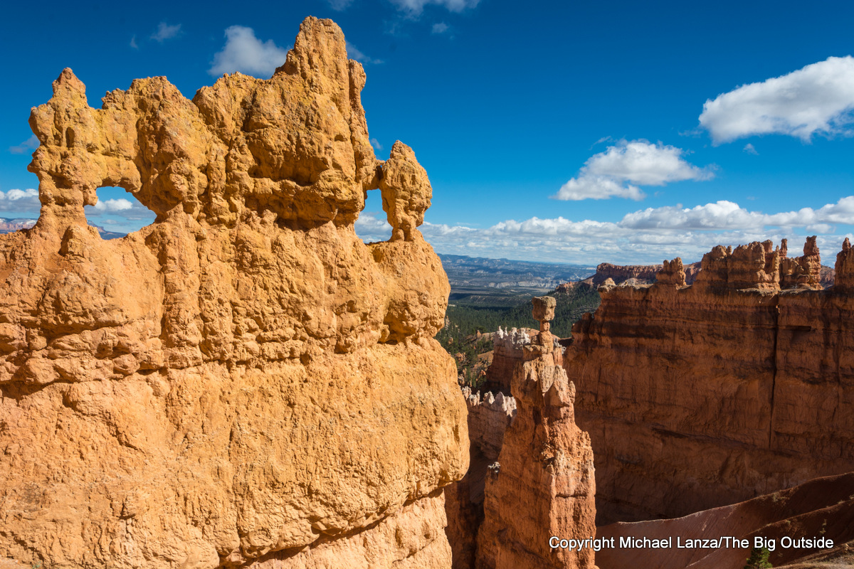 Thor's Hammer on the Navajo Loop Trail in Bryce Canyon National Park.