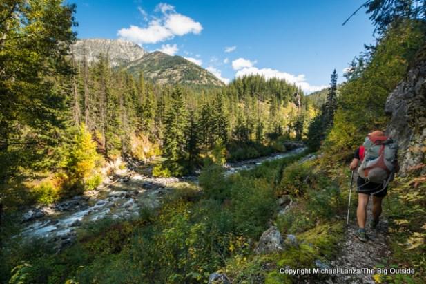 Todd Arndt, Bridge Creek Trail, North Cascades N.P.