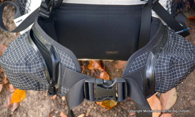 Hyperlite Mountain Gear 3400 Windrider hipbelt.