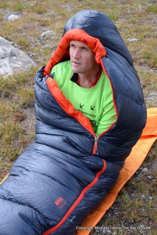 The REI Magma 10 in the Wind River Range.