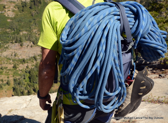 Patagonia Linked Pack 16L with rope.