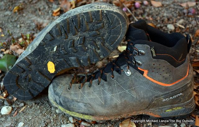 Scarpa Zodiac Plus GTX boots.