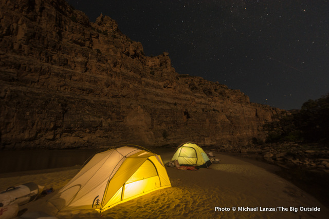 Compromise Camp, Whirlpool Canyon, Dinosaur National Monument.