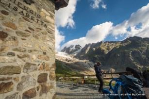 Rifugio Elizabetta Soldini, Tour du Mont Blanc, Italy.