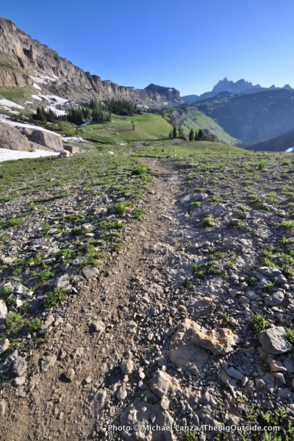 The Teton Crest Trail in Grand Teton National Park.