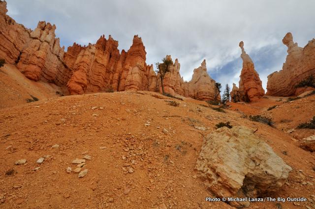 Along the Navajo-Queens Garden Loop in Bryce Canyon National Park.