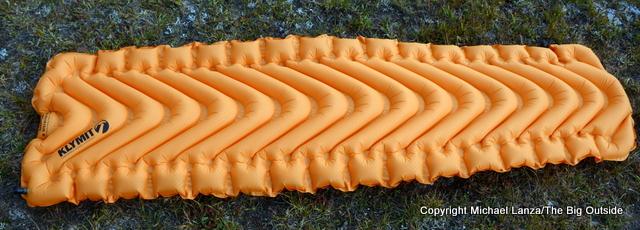 Klymit Insulated V Ultralite SL air mattress.