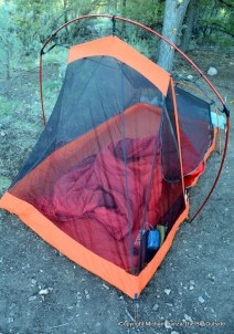 Slingfin 2Lite Trek with optional front pole.