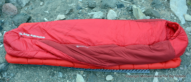 Big Agnes Picket SL 30 sleeping bag.