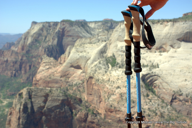 The Montem Ultra Strong Trekking Poles.