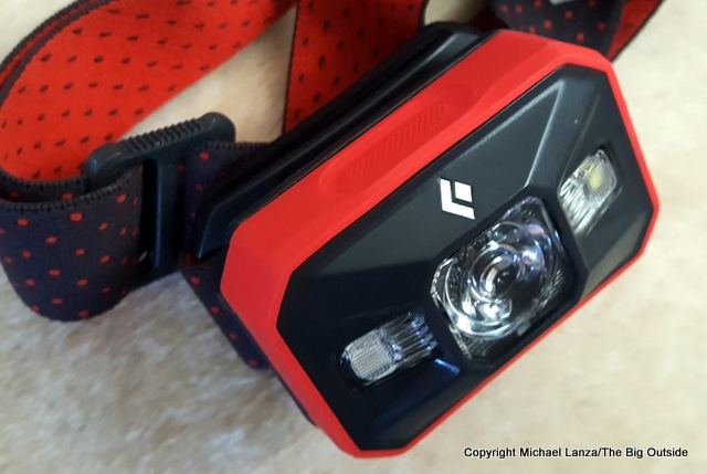 Black Diamond Storm headlamp.