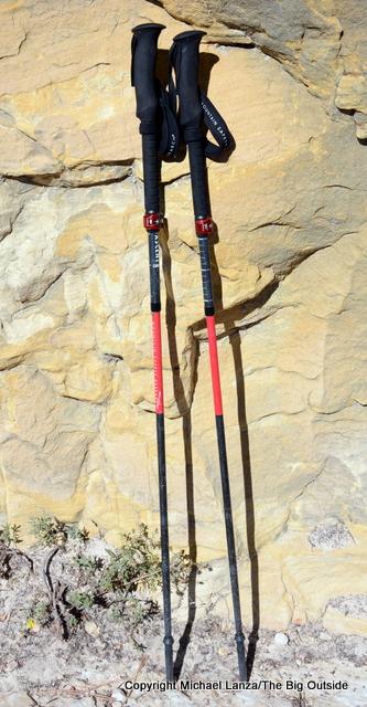 MSR DynaLock Ascent Poles.