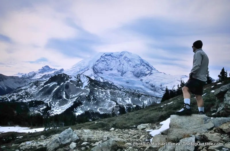 Completely Alone Backpacking Mount Rainier's Northern Loop