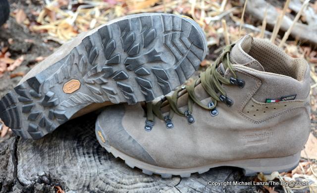 Zamberlan 491 Trackmaster GTX RR boots.