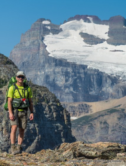 Backpacking the Continental Divide Trail in Glacier National Park.