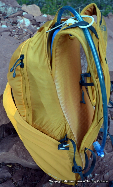 The North Face Chimera 18 side.