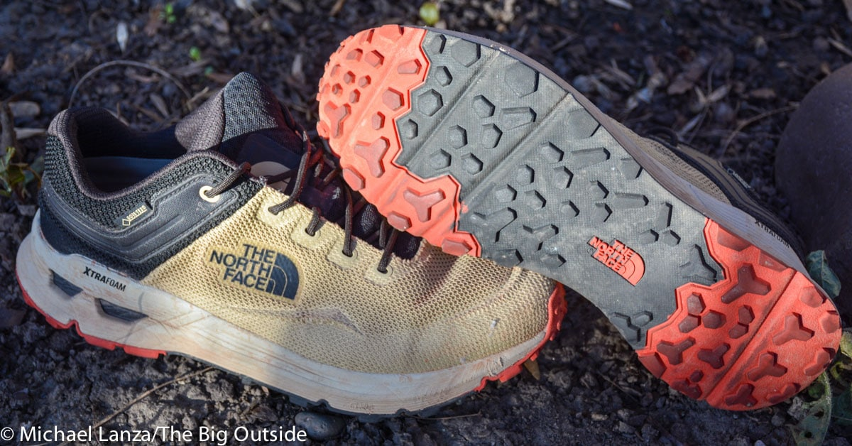 The North Face Safien GTX hiking shoes.