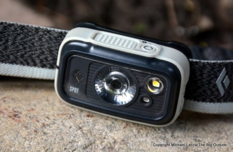 Black Diamond Spot325 headlamp.