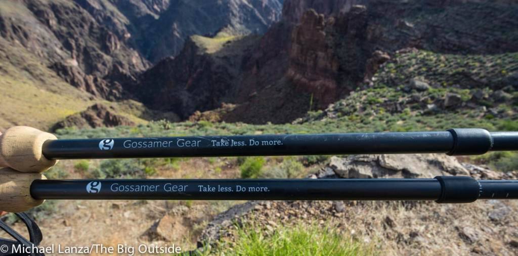 Gossamer Gear LT5 pole shafts.