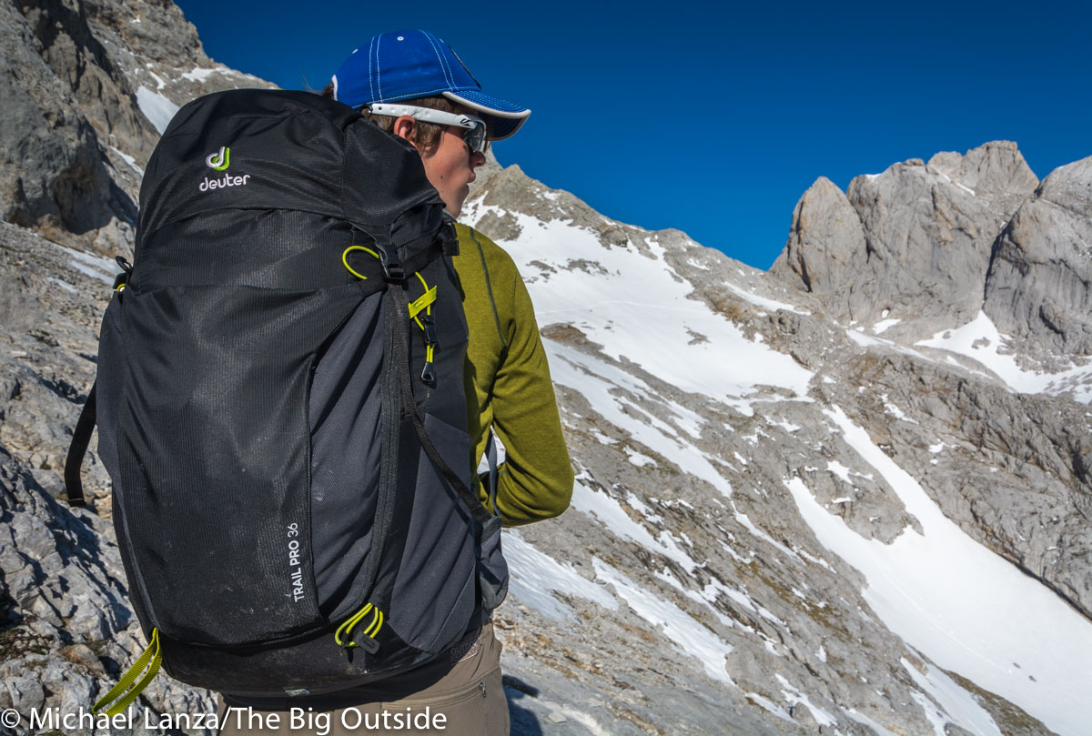 Deuter Trail Pro 36 daypack.
