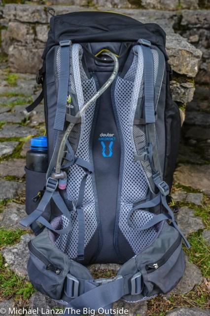 The Deuter Trail Pro 36 suspension.