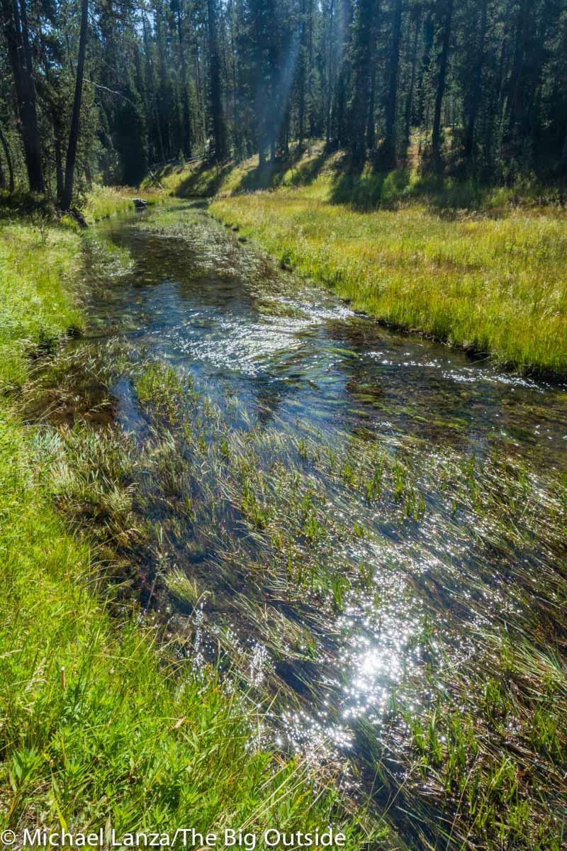Shoshone Creek in Yellowstone National Park.