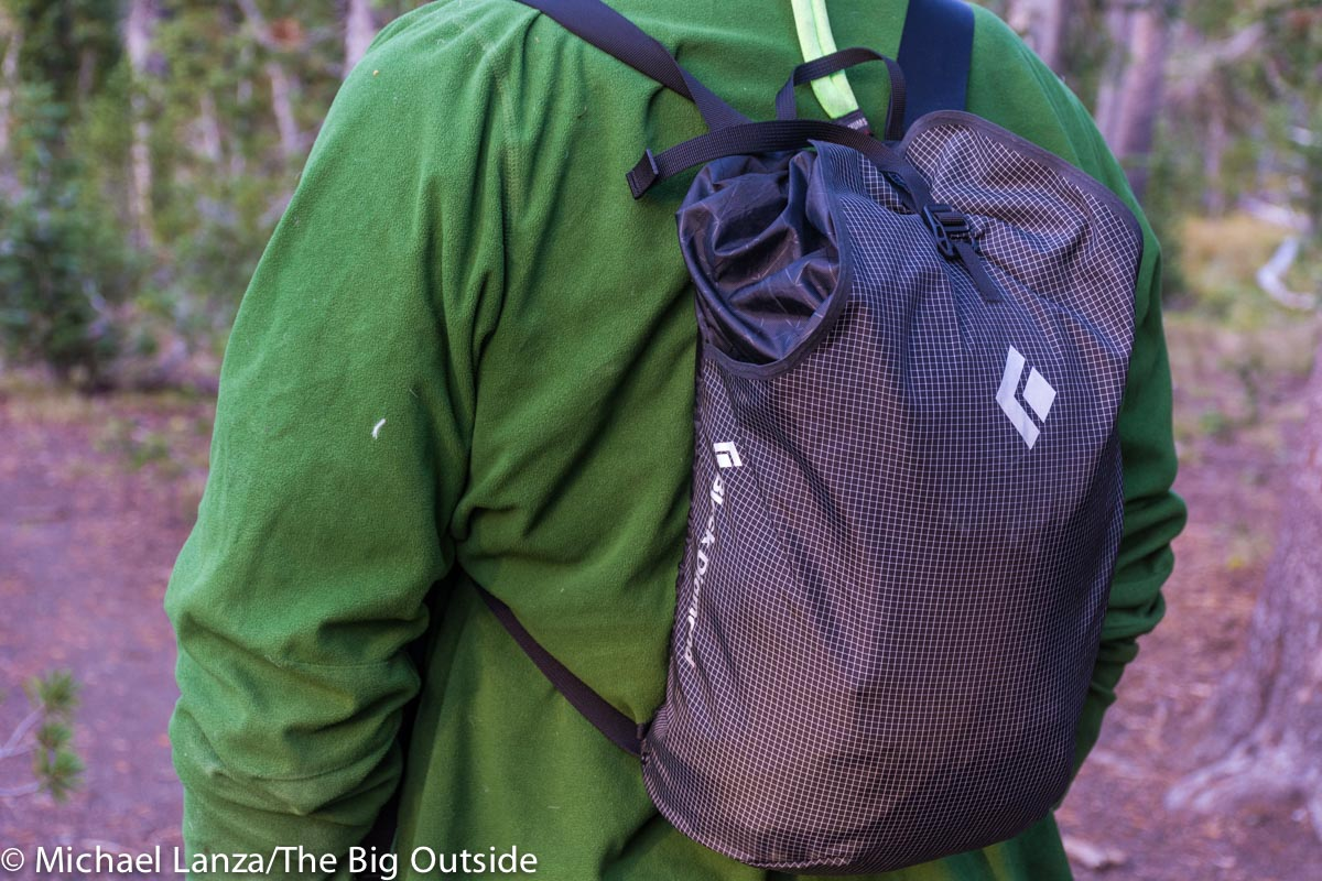Black Diamond Trail Blitz 12 daypack.